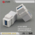 LY-KJ-AP19 RJ45 Network factory directly female usb connector keystones USB changer keystone