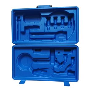 OEM Blow Molding portable toolbox plastic HDPE briefcase toolbox Kunshan factory