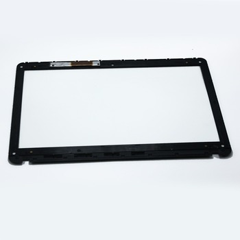 "Digitizer Replacement For Sony SVF152C29M SVF152C29L 15.6"" Touch Screen Glass+Bezel"