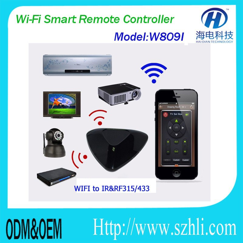 Smart cell/mobile phone or table PC APP software with android and IOS to remote control home appliances in smart home or villa,