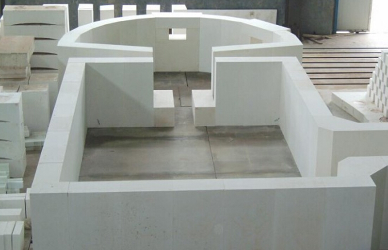 fused cast azs refractories for glass furnace for sale, ER1681