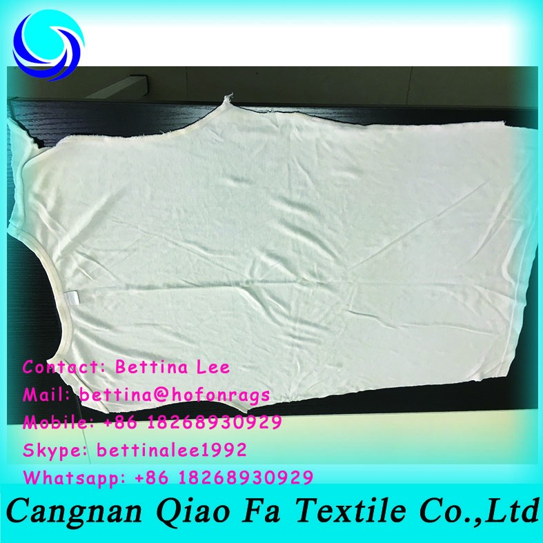 Sterilized,Washed Recycled White T Shirt Rags Cotton Wiping Rags ...