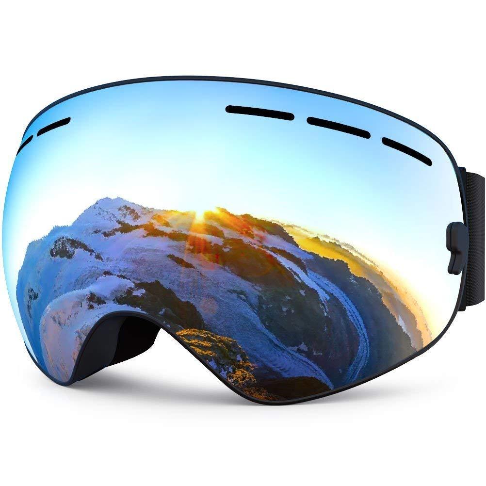 11061e68c490 Get Quotations · Fans ski glasses goggles
