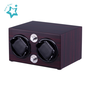 For safety cabinets use 4pcs no.2 battery,super long endurance automatic watch winder FOR 2 WATCHES