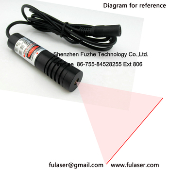 Ir 830nm 0 4 50mw Cw Laser Diode Line Beam 110 Deg Glass