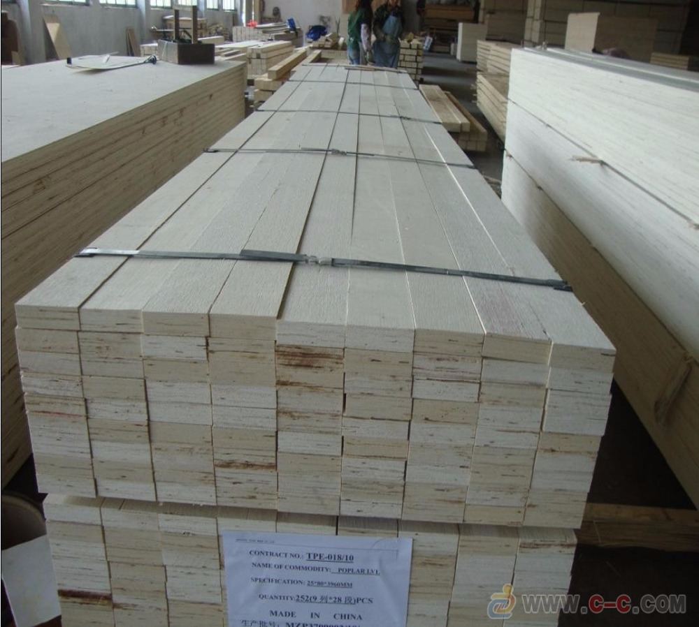 LVL plywood for paking with pine core for korean market