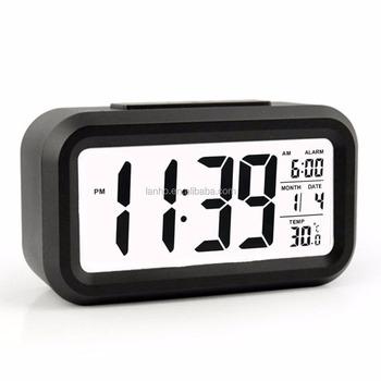Calendario Elettronico.Grande E Moderno Display Led Digital Alarm Clock Con Calendario Elettronico Orologi Da Tavolo Da Tavolo Buy Product On Alibaba Com