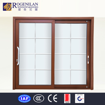 rogenilan aluminum partition wooden door design sliding glass door