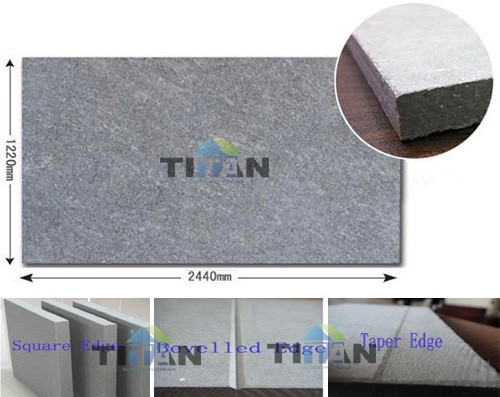 Grey Color Fibre Cement Board Guangzhou 12mm