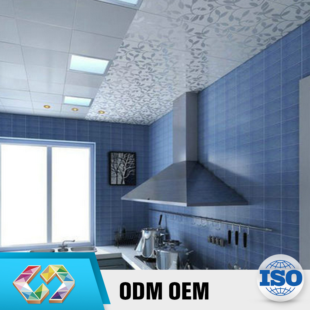 Advertisement Product Raised Blue Glossy Kitchen Countertop Tile
