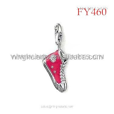 wholesale Alphabet Diamond Pendant Glass Vial Pendant Semi Mount Pendant