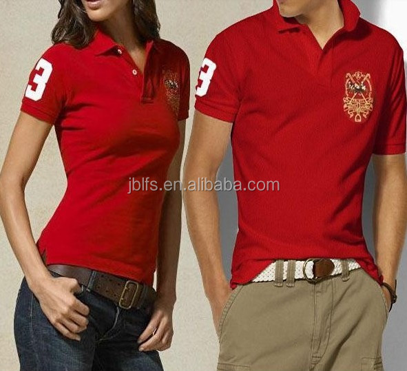 Groothandel zwart maat paar polo shirt design buy for Couple polo shirts online