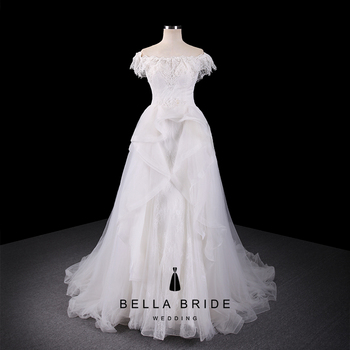 Classic Wedding Dresses Bridal Gowns French Lace Marriage Gowns ...
