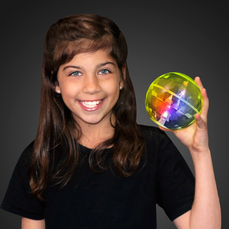 "4"" Big Bounce Ball with Flashing LEDs (Set of 6)"