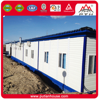 Welding 20' Container House with high quality