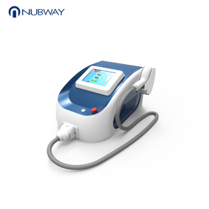 Nubway 808nm diode laser hair removal forever / Newest Portable Diode Laser 808nm Hair Removal Equipment / permanent hair