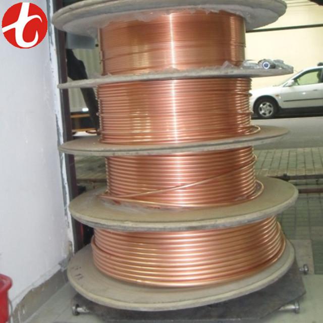 ASTM AC Copper Pancake tube / copper pipe