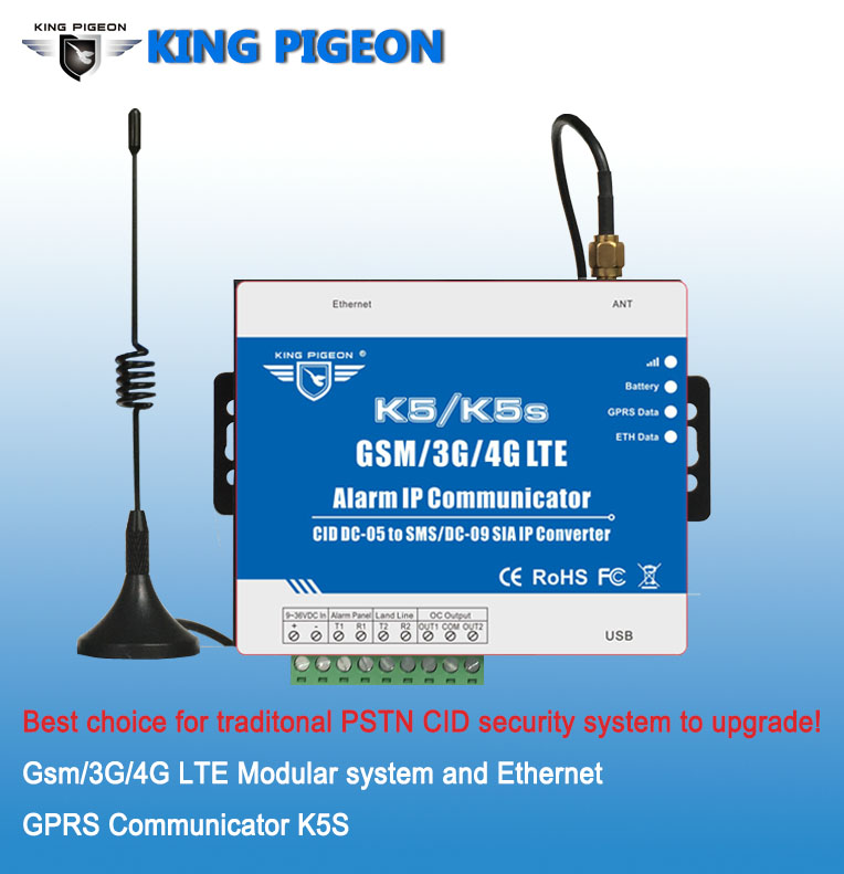 New 4G Alarm System Communicatior for traditional alarm system converter with network port