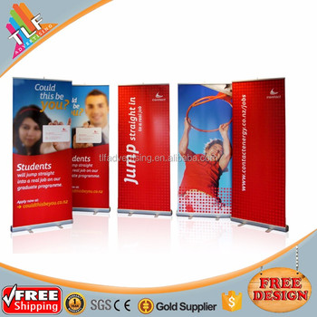 Promotion retractable pull up screen,pop up banner