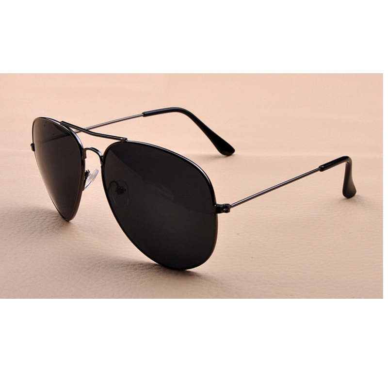 Alloy Frame Aviator Sunglasses for Men and Women Frog Sun Glasses Use Day and Night-vision Goggles Colorful PC Lens Sunglasses
