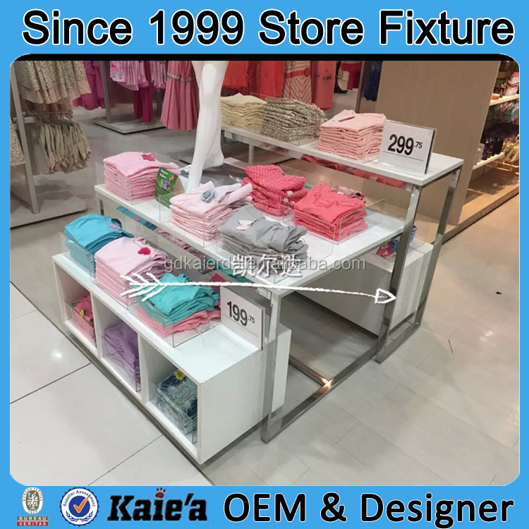 Garment Display Table/Clothes Retail Display Table/retail Display Table