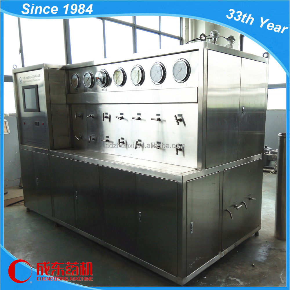 Pilot Scale Supercritical Co2 Fluid Extraction Machine/essential Oil/plant/herb Oil Extractor