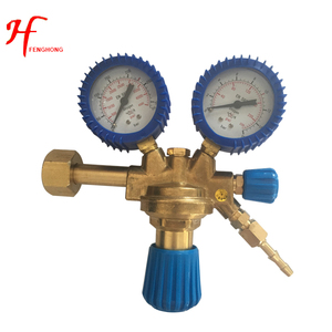 Manufacturer Ningbo oxygen acetylene co2 Argon gas pressure regulator for Italy welding