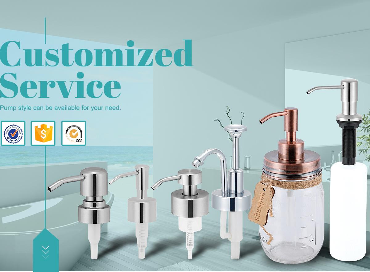 Jiangmen Longan Houseware Co., Ltd. - Soap Dispenser Pump, Kitchen ...