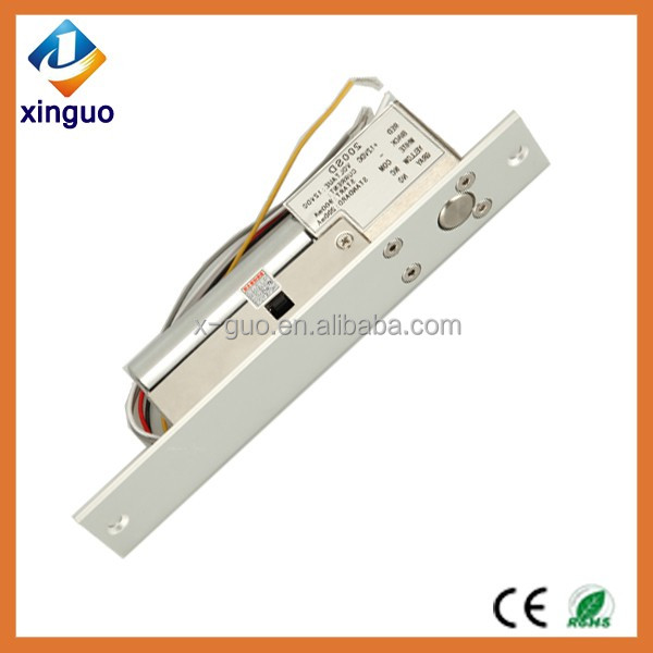 Hot sale Fail Safe Drop Mortise door Electric bolt Lock