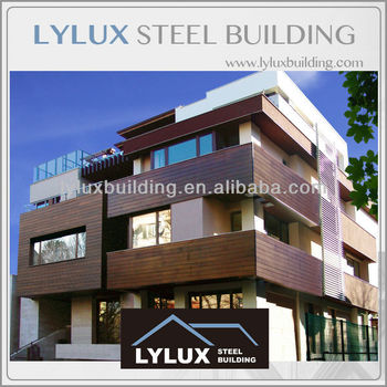 Desinged appartement b timent luxe moderne acier for Maison container 50000
