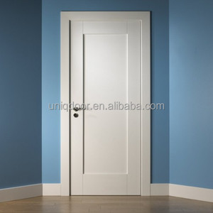Interior pre-hung primed shaker door designs