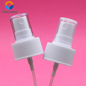 Plastic cosmetic 28mm mist perfume crimp sprayer pump manufacturers
