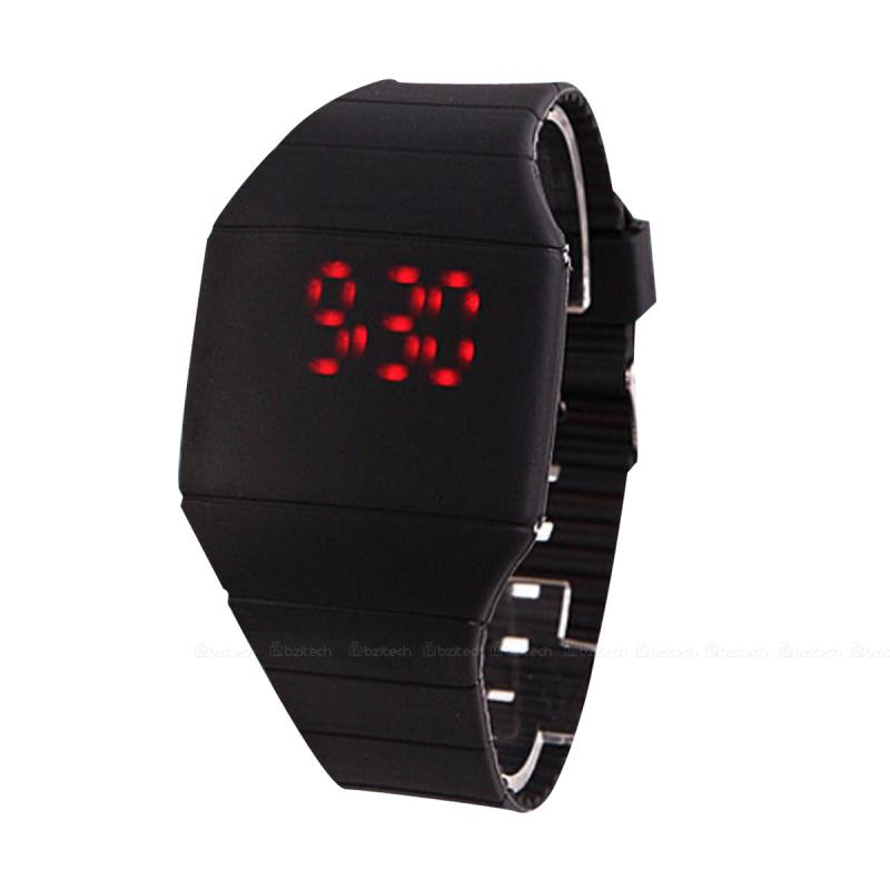 New Arrival! Fashion Sport LED Watches Candy Color Silicone Rubber Touch Screen Digital Watches