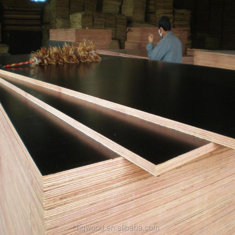 18mm film faced plywood /marine plywood with WBP & phenolic glue