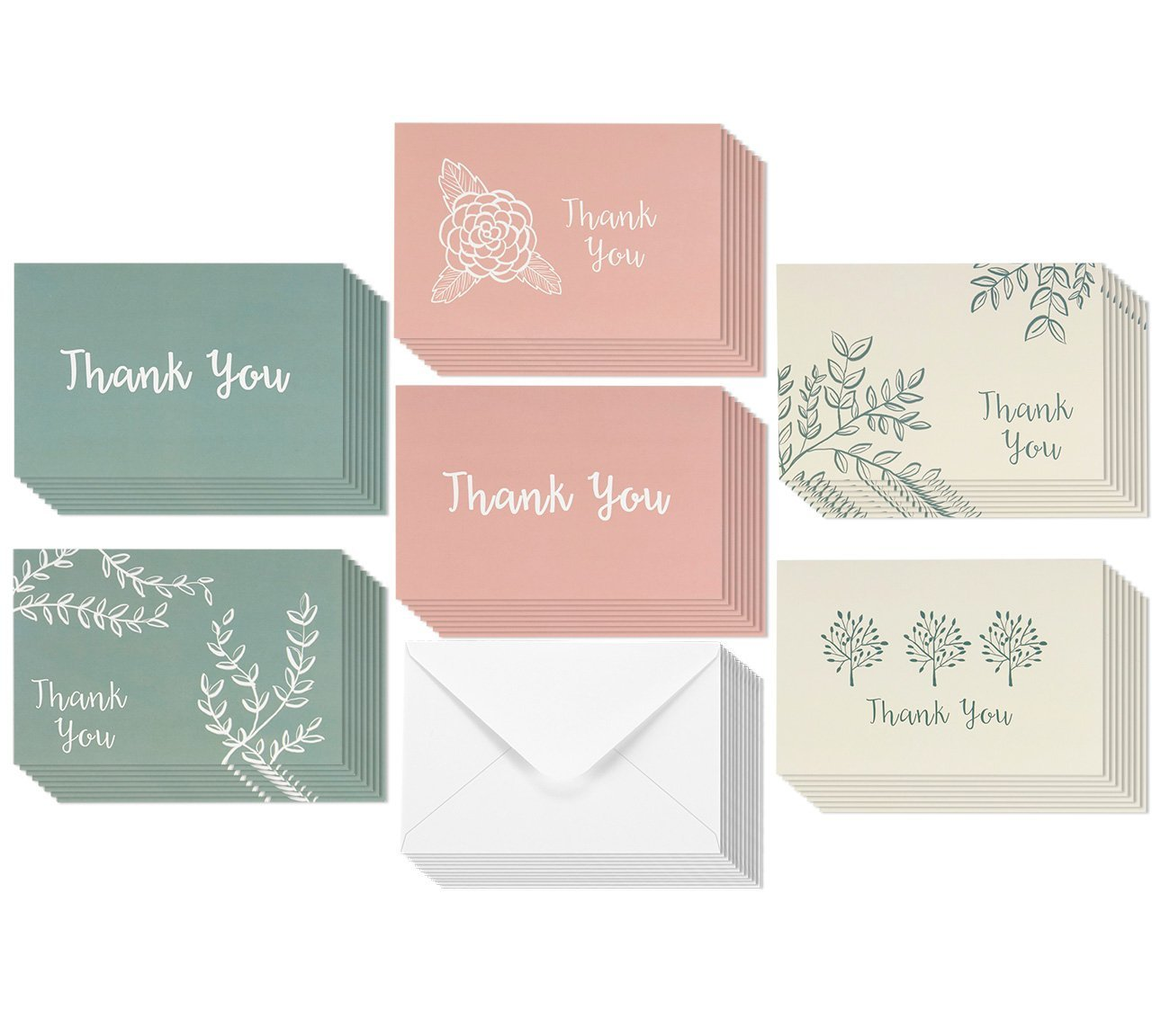 Cheap bulk greeting cards cheap find bulk greeting cards cheap 48 pack thank you greeting cards bulk floral and foliage designs thank you note m4hsunfo