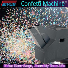 easy control color paper cutting confetti machine
