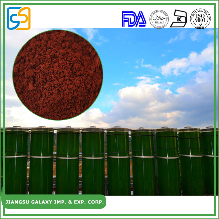 Free sample extract red algae haematococcus pluvialis astaxanthin powder