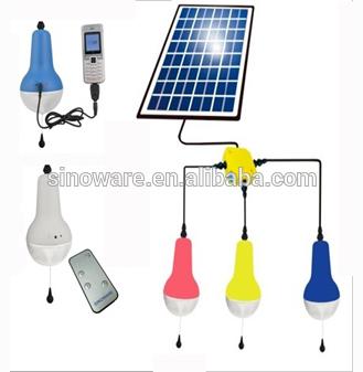 Lampara solar con control remoto y samsung cellphone charger energ a renovable para el hogar - Lamparas solares interior ...