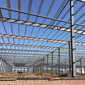 Prefabricated Steel Structure Warehouse With Layout Design