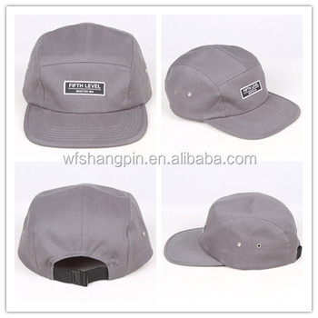 ab7ef6cec7498 Custom-made wholesale 5 panel cap with woven label