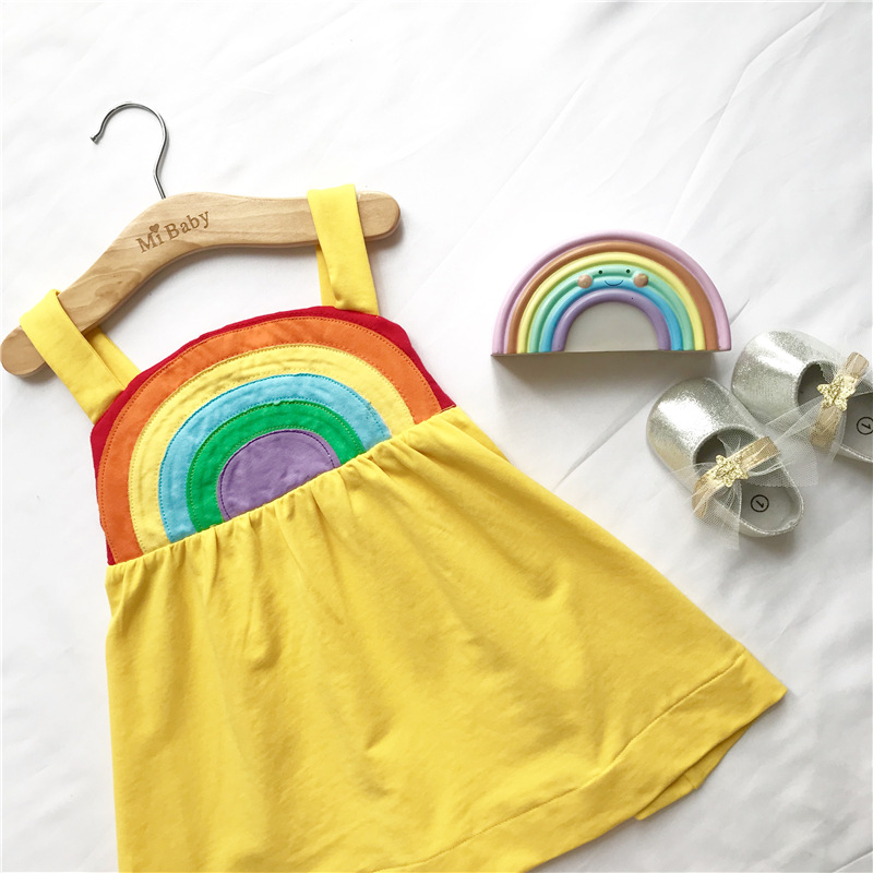 2020 custom fashion latest design baby girls summer dresses children clothes cute frock dress