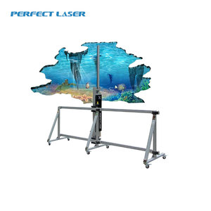 Excellent Definition 3D Vertical Unlimited Width Wall Decal Printing Machine Price For Advertisement