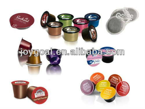 Shanghai Joygoal nespresso capsule coffee machine coffee capsule making machine automatic coffee machine capsule