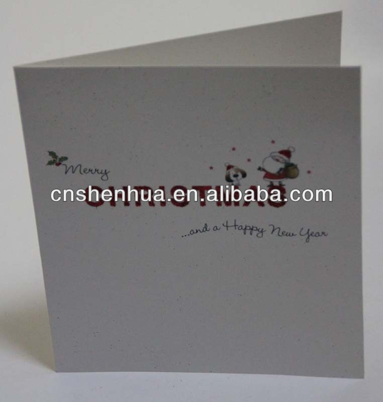 manufacturer handmade greeting christmas card