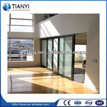 Unique Design Two Track Aluminum Sliding Window