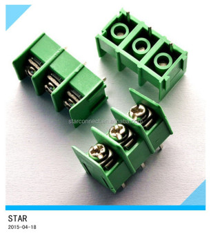 7 62mm Pitch 3 Pin 3 Way Straight Pin Pcb Screw Terminal Block Connector -  Buy 3 Pin Pcb Terminal Block Connector,Straight Pin Pcb Screw Terminal