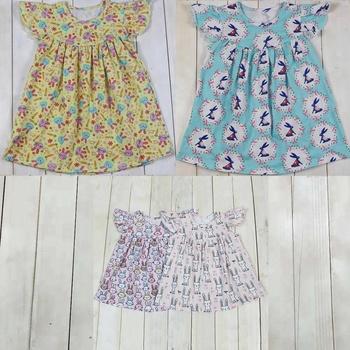 2019 Niñas Boutique De Ropa Imprimir Conejolas Niñas Vestido De Verano Las Niñas Vestidos Diseño Buy Diseño De Vestidos Para Niñas2019 Ropa De