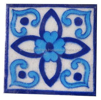 Kitchen Bathroom Indian Blue Pottery Tile Decals Buy Kitchen Decor Tiles Blue Ceramic Tiles Swimming Pool Tile Product On Alibaba Com