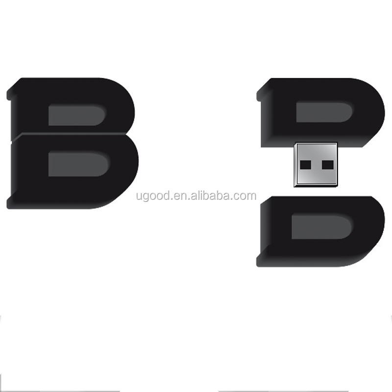 Create Your Own 3D Custom Shaped Flash Drive Customized USB Flash Disk , High Speed Personalized USB Flash Drive 8GB
