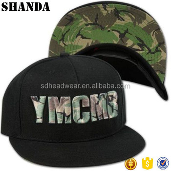 Custom Camo 3d Embroidery Tactical Hat Captain Snapback Hats Buy